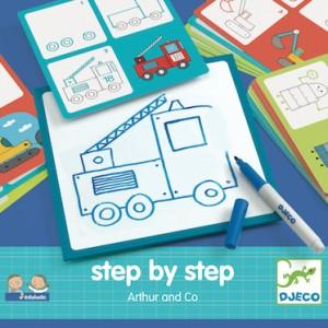 Eduludo - Step by step drawing Arthur (dj08321)