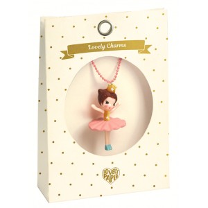 Lovely charms necklace - Ballerina (dd03800)