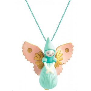 Lovely charms necklace - Fairy (dd03803)