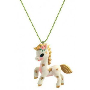 Lovely charms necklace - Poney (dd03804)