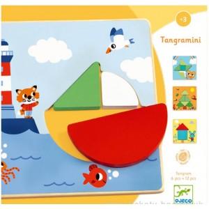 Wooden game - Tangramini (dj01672)